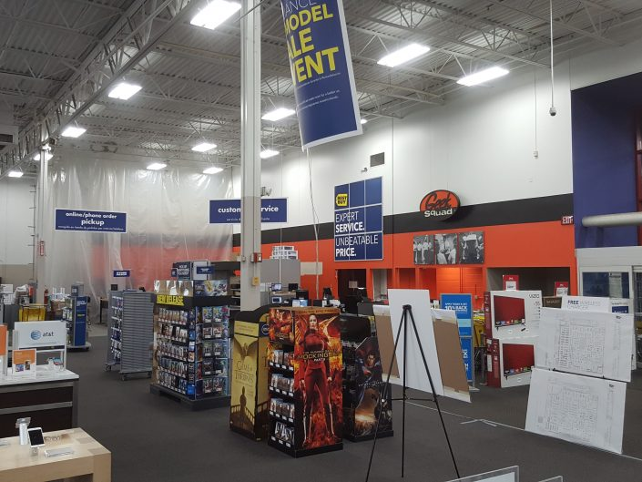 Best Buy Renovation