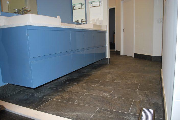 custom gray tile