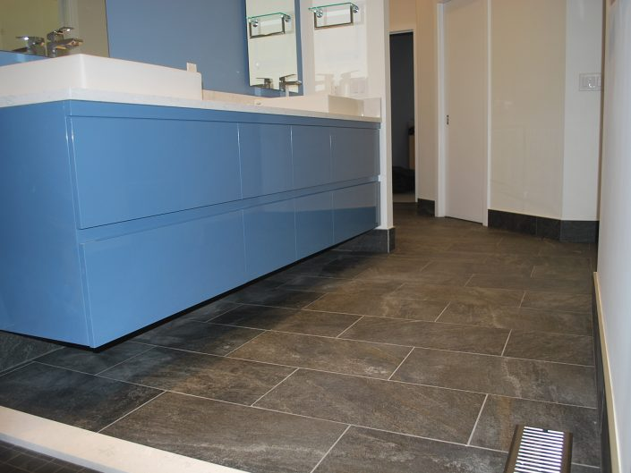 custom gray tile