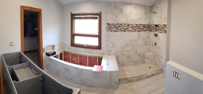 wide angle bathroom
